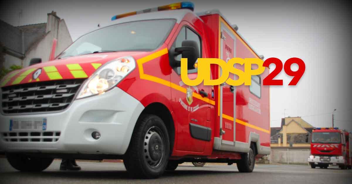 Ambulance réanimation UDSP 29